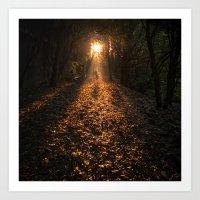 Autumn Fantasy : Let The… Art Print