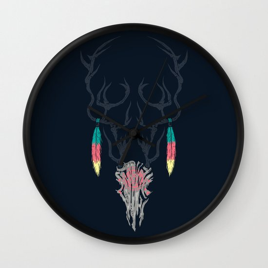 Darkness Within (Color Ver.) Wall Clock