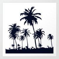 California Negative  Art Print