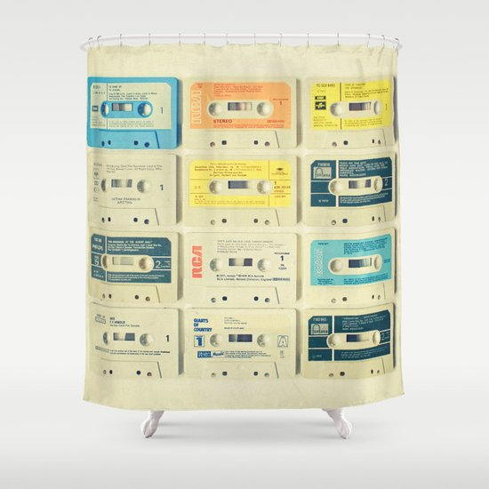 All Tomorrow's Parties Shower Curtain