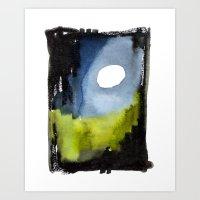 Night Path Art Print