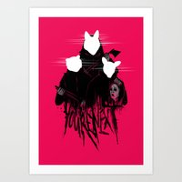 YES, You're Next! Art Print