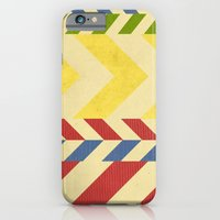 iPhone & iPod Case featuring Myriad Chevrons by rollerpimp