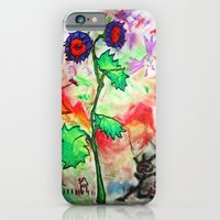 iPhone & iPod Case featuring FlowerPower by myripART