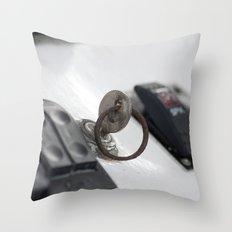 Turn the Key Throw Pillow