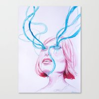 Fluido Canvas Print