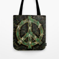 Peace Keepers Tote Bag