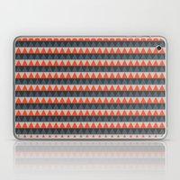Orange Gray Pattern Laptop & iPad Skin