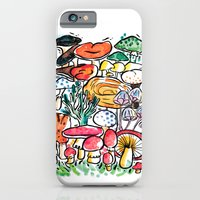 Fungi family iPhone 6 Slim Case