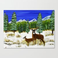 Beginning Of Winter Canvas Print