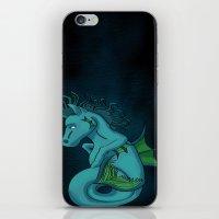 Kelpie The Hippocampus  iPhone & iPod Skin