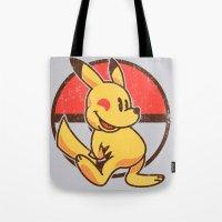 Pika Mouse Tote Bag