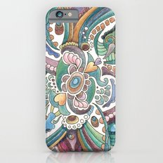 Twisted love for a sea butterfly iPhone 6 Slim Case
