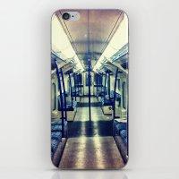 Empty tube- Victoria Line iPhone & iPod Skin