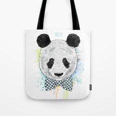 Hello Panda Tote Bag