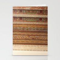 Moroccan Palace Patterns Stationery Cards