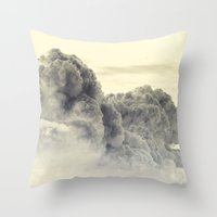 Heavenly Stampede Throw Pillow