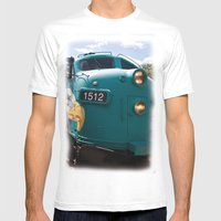 Train In Your Face Mens Fitted Tee White SMALL