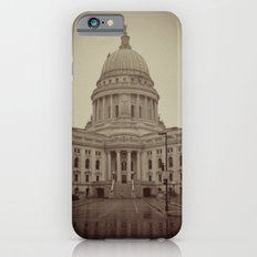Madison Wisconsin Capital Building Architecture Sepia Photography Slim Case iPhone 6s