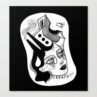 Skateopolis Canvas Print