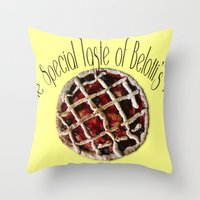 The Special Taste Of Bel… Throw Pillow