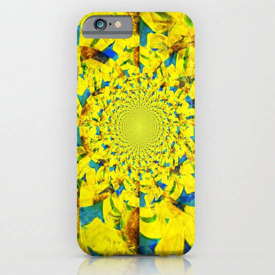 China Kat Sunflower iPhone & iPod Case