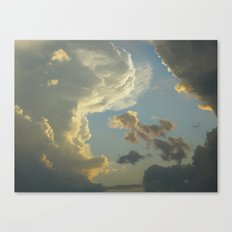 Dancing About The Sun Canvas Print