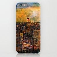 NYC Color Grunge iPhone 6 Slim Case