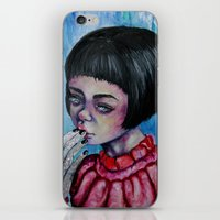 The Girl with Silver Hands  iPhone & iPod Skin