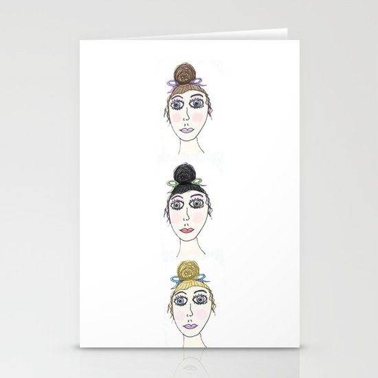 Pretty Ladies Stationery Card