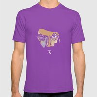 What The Fuck Are You Ta… Mens Fitted Tee Ultraviolet SMALL
