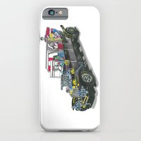 iPhone & iPod Case featuring Munster Koach Color Variant by Christopher Chouinard