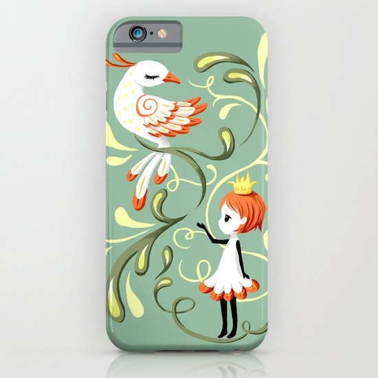 Princess and a Bird iPhone & iPod Case