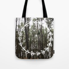 do think be positive Tote Bag