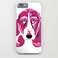 iPhone & iPod Case featuring Hound Dog by andiroses