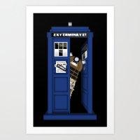 Dr. Dalek Art Print