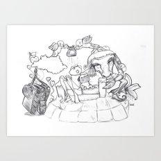 Lauri Art Print