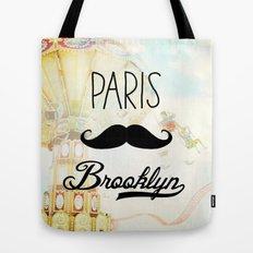 Paris Brooklyn Tote Bag