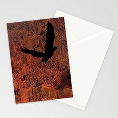Ecotone (night) Stationery Cards