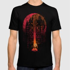 Master Of Illusion Mens Fitted Tee Black SMALL