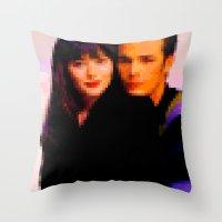 90210 Throw Pillow