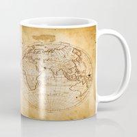 World in Hemispheres Mug