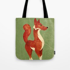 Foxing Around Tote Bag