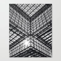Metal and Glass Canvas Print