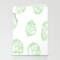 green is big! Stationery Cards