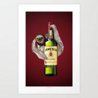 Jamesuh Art Print
