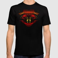 Alien Dude SMALL Black Mens Fitted Tee