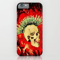 iPhone & iPod Case featuring MENTAL HEALTH - 025 by Lazy Bones Studios