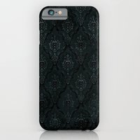 iPhone & iPod Case featuring Victorian Onyx by dvdesign