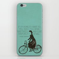 Audrey always knows what to say. iPhone & iPod Skin